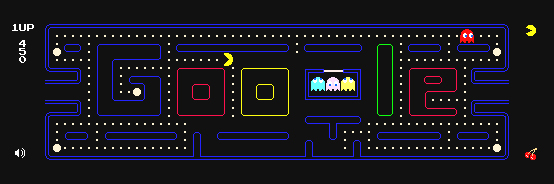 PacMan turns 30 - Google celebrates - Everyone plays