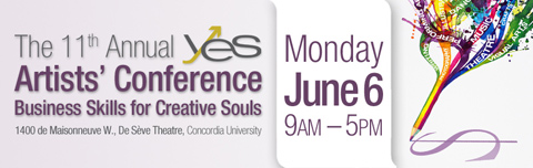 The 11th Annual YES Artists' Conference - Business Skills for Creative Souls