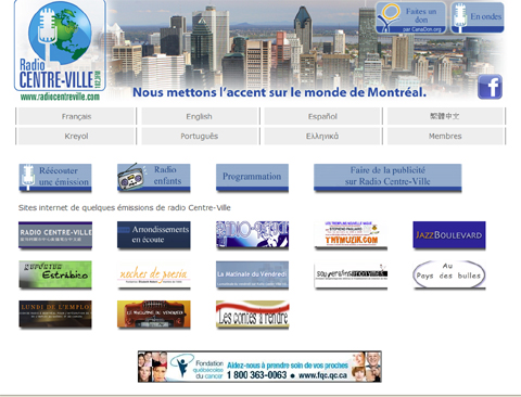 radiocentreville home page